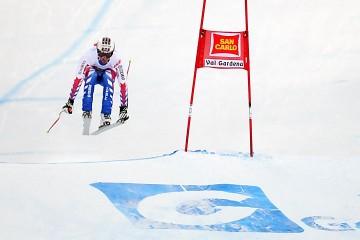 Johan Clarey DH Val Gardena (fot. Michał Szypliński/skifoto.pl)