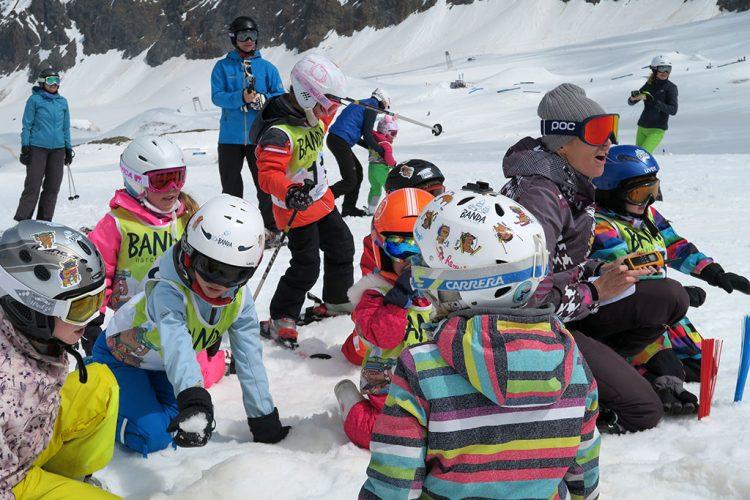 dzieci narty