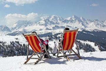 Południwy Tyrol leżaki