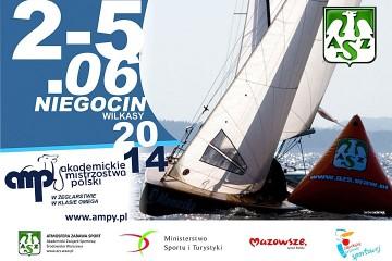 Żeglarskie AMP-y plakat 2014