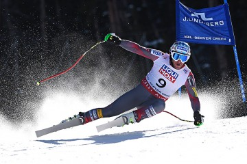 VAIL/BEAVER CREEK, USA - FEBRUARY 05: Bode Miller of the USA competes during the FIS Alpine World Ski Championships Men's Super G on February 05, 2015 in Vail/Beaver Creek, USA. (Photo by Alain Grosclaude/Agence Zoom)