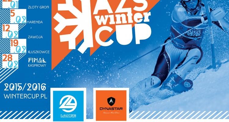 Plakat AZS Winter Cup 2016
