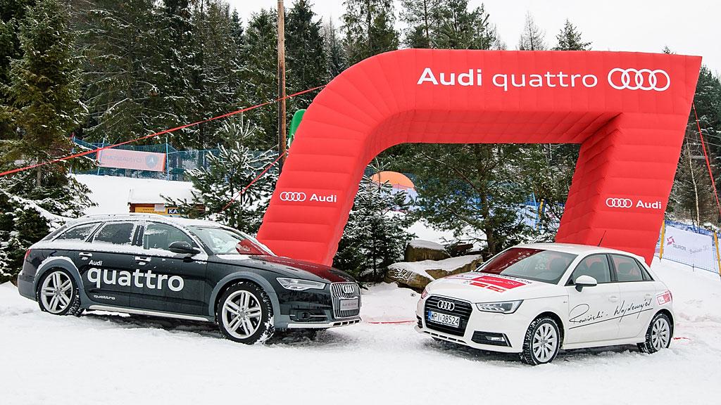 W tym sezonie jeden zuczestników AZS Winter Cup wygra samochód audi A1. Nagroda bardzo się wszystkim podoba, alesposób jej przyznawania rodzi wątpliwości wśród zawodników.