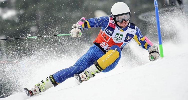 Mitan Szymon (AGH Kraków) - I eliminacje AZS Winter Cup 2015/2016 - Czorsztyn Ski, Kluszkowce, Polska, 15.01.2016 r. fot. Michał Szypliński (skifoto.pl)
