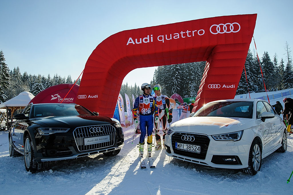 Oprawa zawodów AZS Winter Cup przebija wszystko, co dzieje się wpolskim narciarstwie.