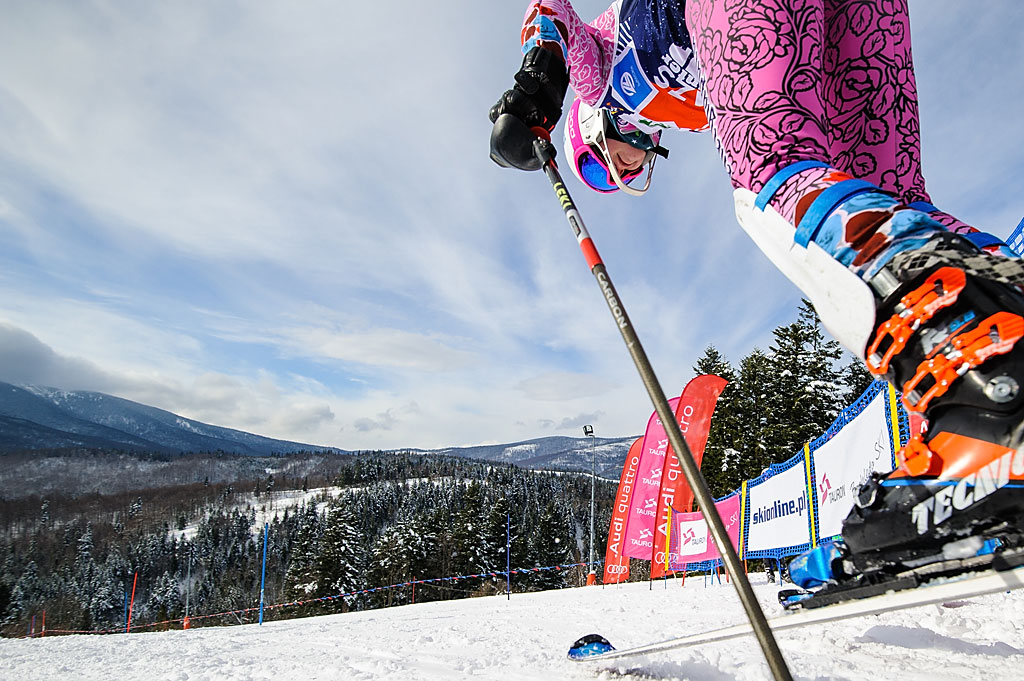 Katarzyna Ostrowska rusza natrasę slalomu
