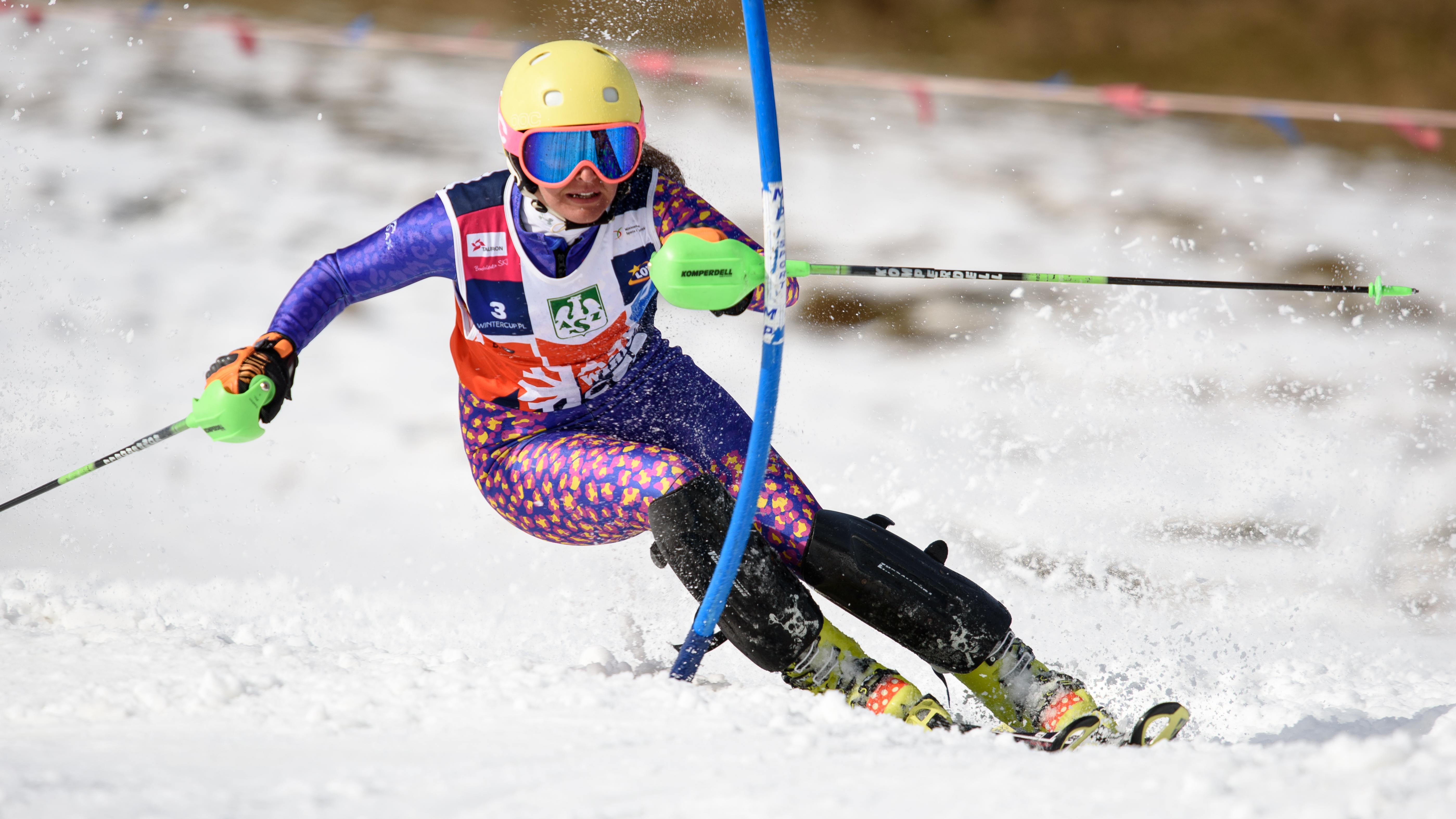 Anna Berezik była zdecydowanie najlepszą zawodniczką AZS Winter Cup. Wewtorek odbierze nagrody zazwycięstwa wklasyfikacji gigantowej islalomowej.