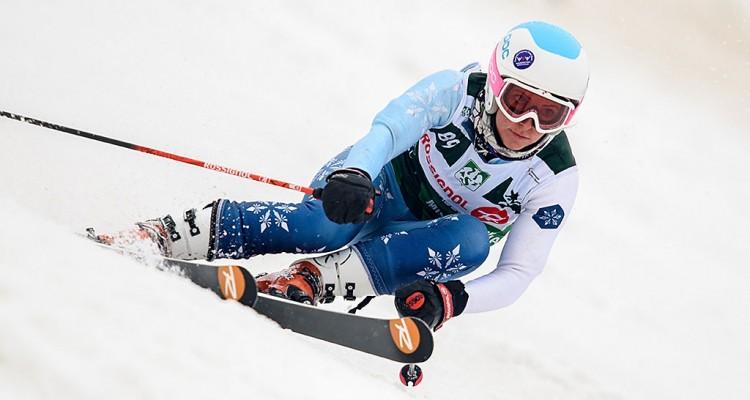 Akademickie Mistrzostwa Polski 2015/2016 - kwalifikacje GS kobiet - Harenda, Zakopane, Polska, 29.02.2016 r. fot. Michał Szypliński (skifoto.pl)