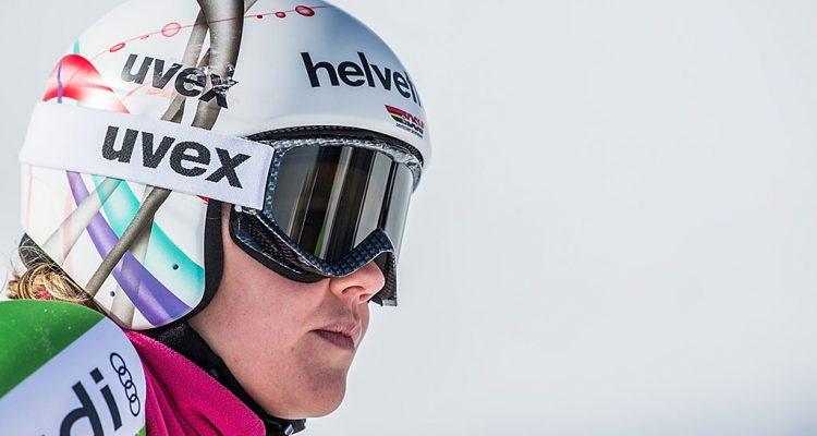 KAUNERTAL,AUSTRIA,06.MAI.14 - SKI ALPIN -  Training und Fototermin Stoeckli. Bild zeigt Viktoria Rebensburg (GER). Foto: GEPA pictures/ Oliver Lerch