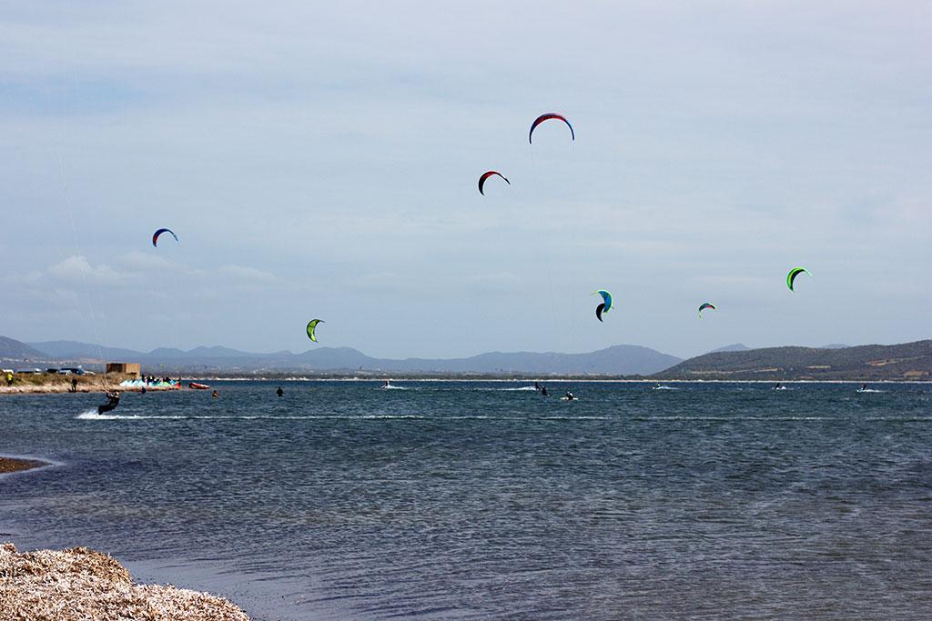 kitesurfing sardynia