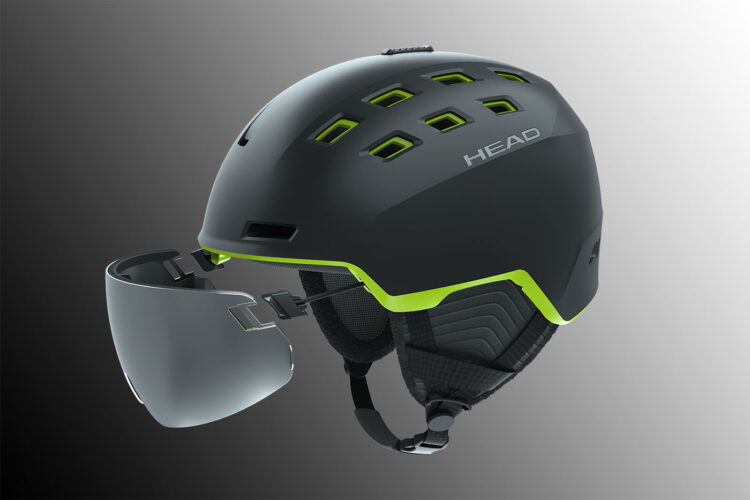 Head Radar – kask zwizjerem nalinkach