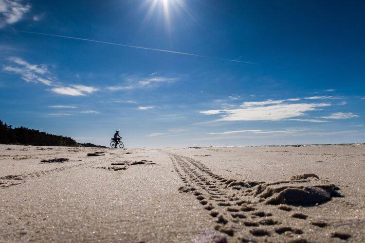 trasa rowerowa nad bałtykiem