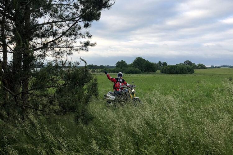 test motocykli