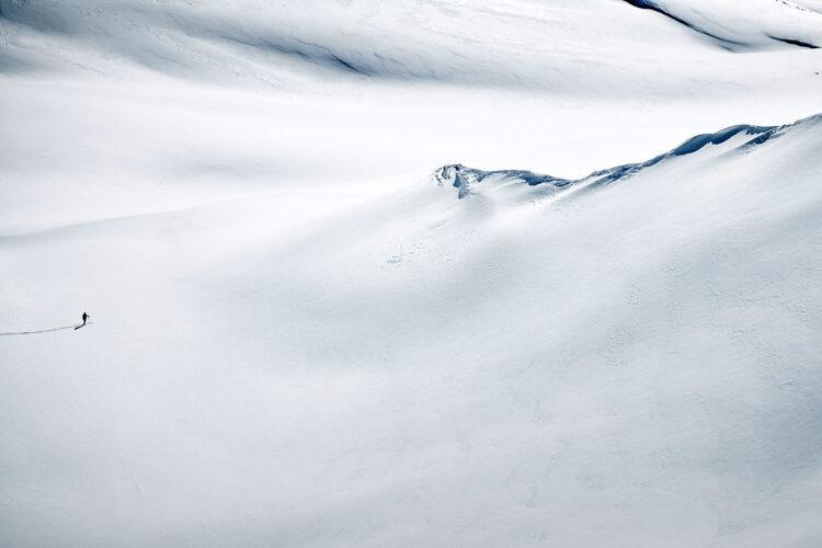 Pierwsze narty poza trasę