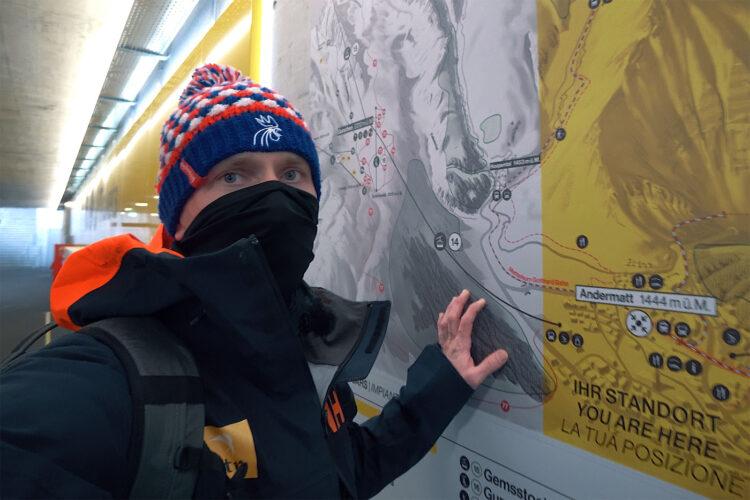 Andermatt – Narty wSzwajcarii wczasie pandemii