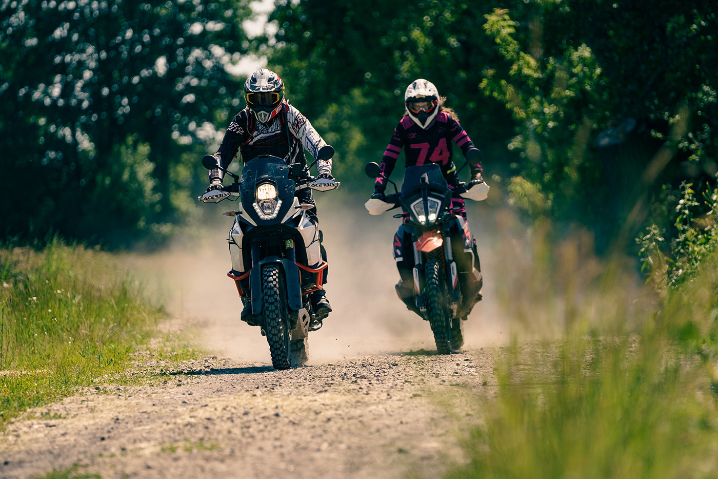 motocykl adventure